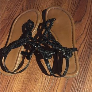 Sandals only been worn a few times, very cute
